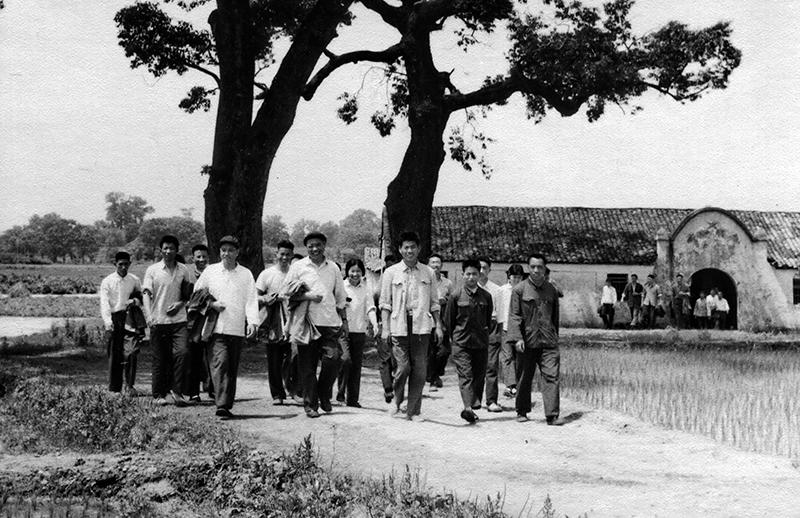 1974组团参加共产主义劳动大学现场考察